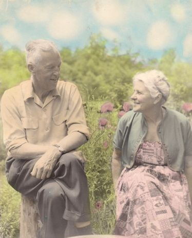 Bill Wilson and wife Lois Wilson, co-founders of AA and Al-anon respectively.