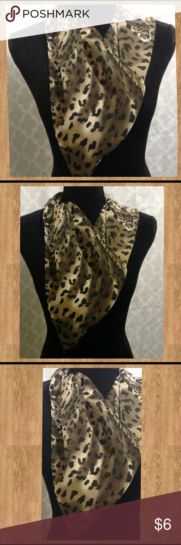 Cheetah Scarf Neck scarf. Cheetah print. Lightweight and versatile. ⬇️ 💵 Bundle and Save. 🎉 👗 Accessories Scarves & Wraps