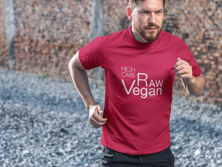 Discover High Carb Raw Vegan T-Shirt from FruityLou, a custom product made just for you by Teespring.  High Carb Raw Vegan is here to stay so why not let people know what you are doing. https://teespring.com/raw-vegan?tsmac=store&tsmic=fruitylou#pid=389&cid=100030&sid=front