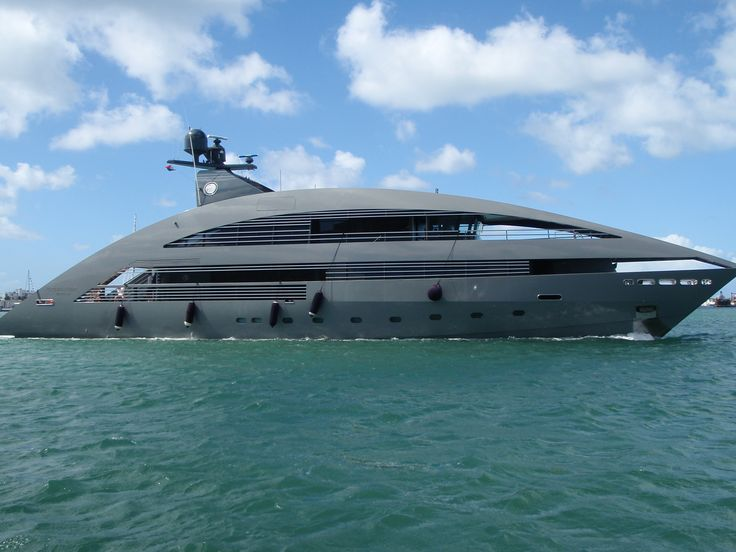 Super Mega Yachts | Super Yacht Services | Dryad Maritime Intelligence Services