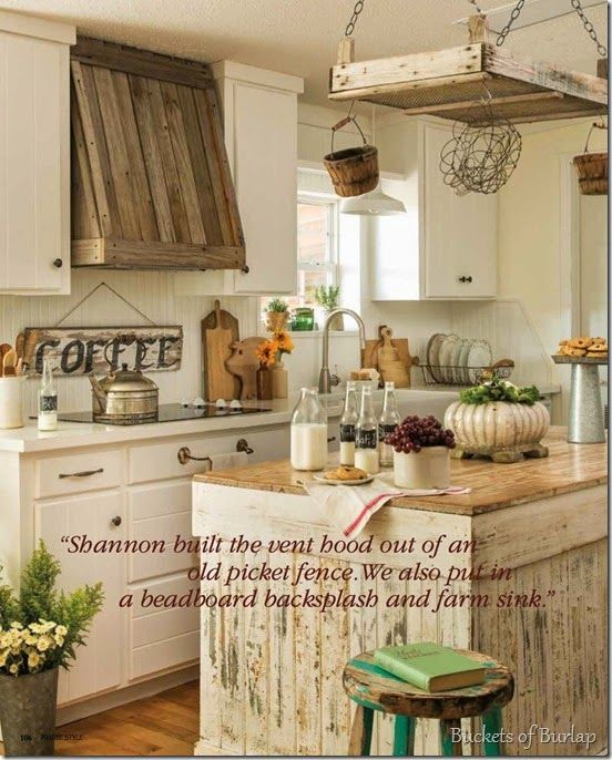Rustic Vent Hood And Kitchen Island Kitchen Pinterest Vent Hood