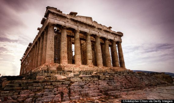 Greek Architecture ,as with so many other things,set the mark of excellence in Architecture.We see this all over the World.