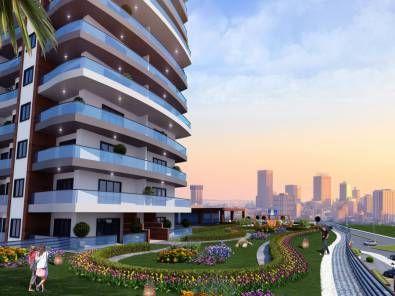 Данный проект располагается на 7000кв/м и состоит из одного подъезда 442 жилых и 23 торговых площадей. Имеются квартиры типа 1+1,2+1,3+1 и хоумофисы 1+0. В комплексе предусмотрены фитнес центр, беседки, крытая парковка, сауна, бассейн, декоративные пруды, генератор, центральное отопление. В проекте предлагается рассрочка с 35% первым взносом и рассрочкой до 24 месяцев. Дата сдачи май 2018г.