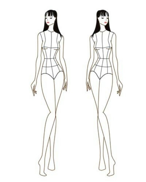 11 best figure templates images on Pinterest Drawings of - fashion designer templates