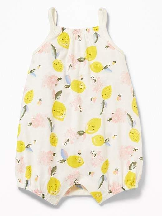 d69eeac21 Old Navy Printed Jersey Bubble One-Piece for Baby #babygirl, #romper,  #oldnavy, #promotion