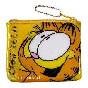 Garfield Cat Wallet Accessory - Garfield Coin Purse
