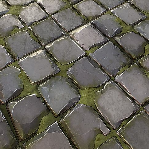 cobblestone texture handpainted - Google Search