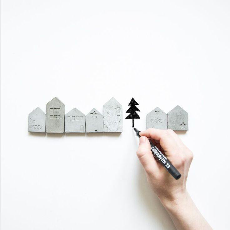 Продаем стильные минималистичные горшки и кашпо из бетона. Бетонный дизайн. Кактусы и суккуленты как часть скандинавского интерьера. Купить в Москве.