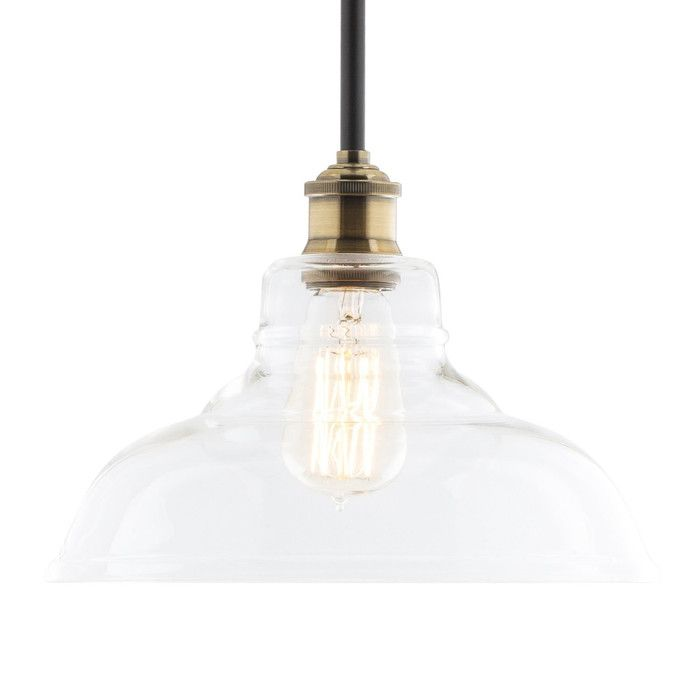 You'll love the Norman 1 Light Globe Mini Pendant at Wayfair - Great Deals on all Lighting  products with Free Shipping on most stuff, even the big stuff.