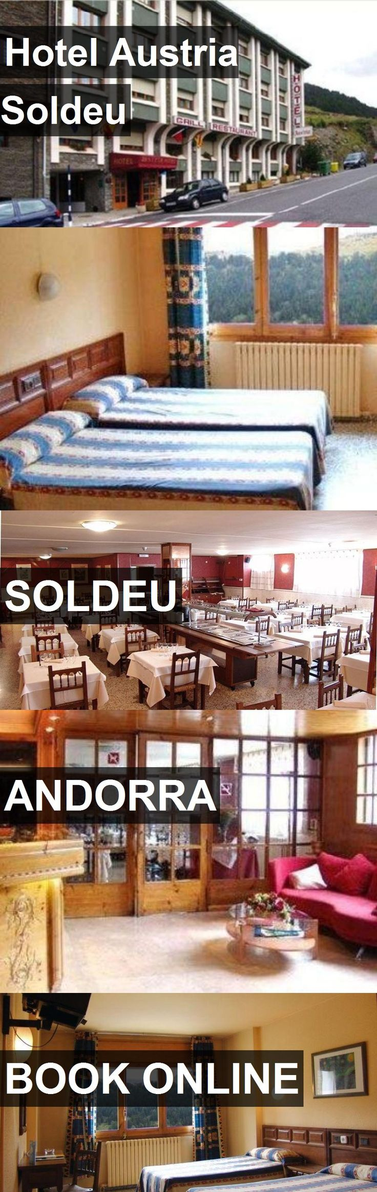 Hotel Austria Soldeu in Soldeu, Andorra. For more information, photos, reviews and best prices please follow the link. #Andorra #Soldeu #travel #vacation #hotel