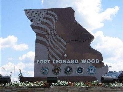 Ft. Leonard Wood, Missouri for US Army Basic Training