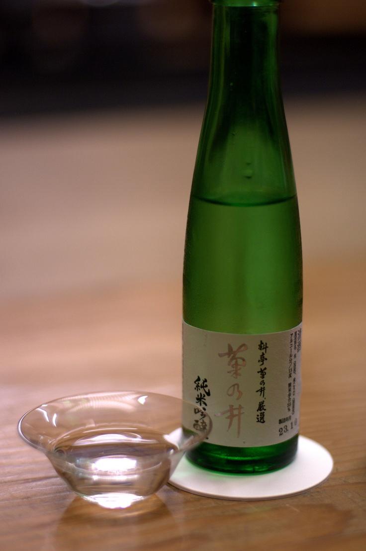 Fragrant Japanese Sake
