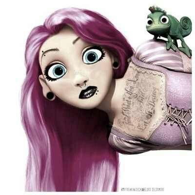 Punk edit Rapunzel