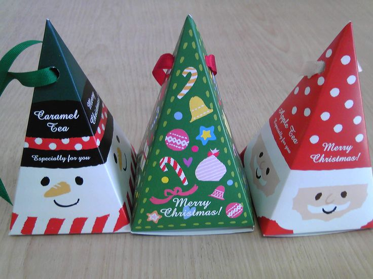 クリスマス三角紅茶ティーバッグ