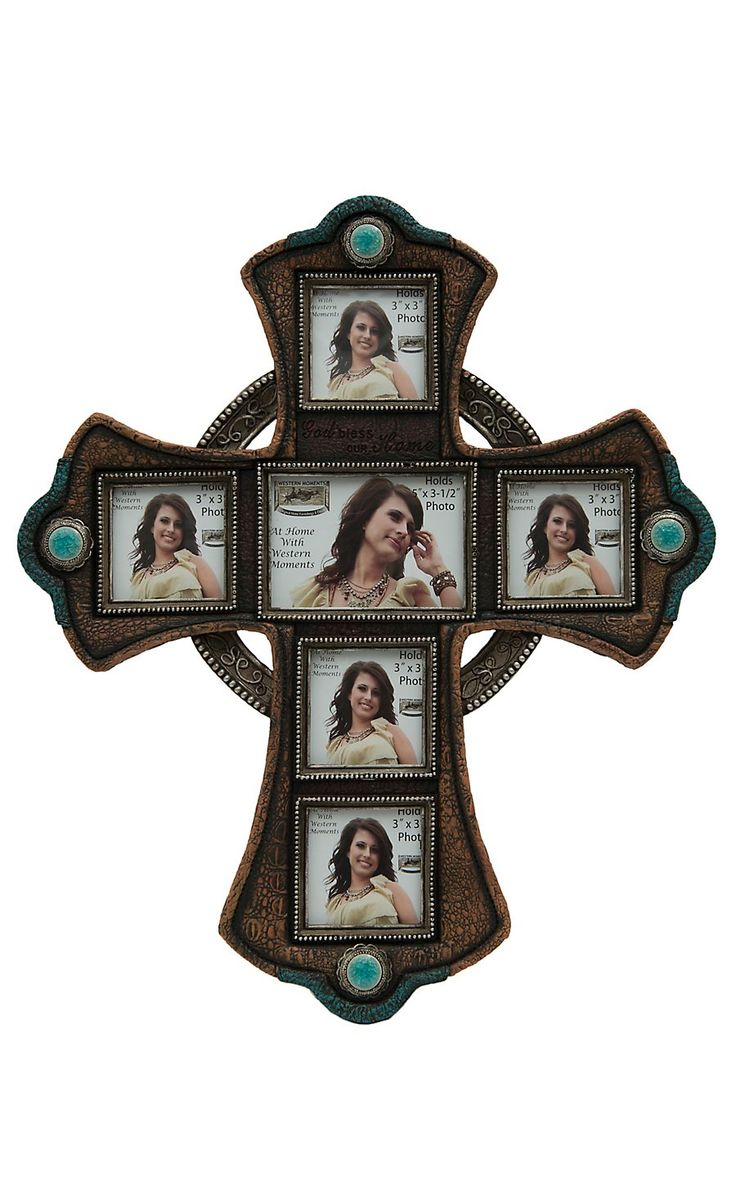 103 best photo frames images on pinterest decor ideas doors and mf cross photo collage frame amipublicfo Image collections