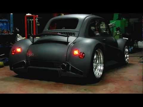 custom Fiat 500 may look like a life-size toy car, but this little bug has the heart of a bull – a 6.2-liter V12 from a Lamborghini Murcielago, to be exact. That's 580hp in a 1,100lb car. BAM!