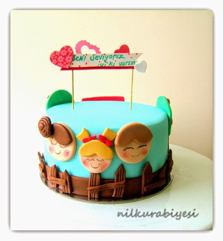 Nil Kurabiyesi - Tekirdağ Butik Kurabiye: Babamıza pasta...