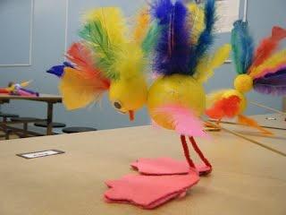 Oiseau (drôle d') - educateur en milieu scolaire