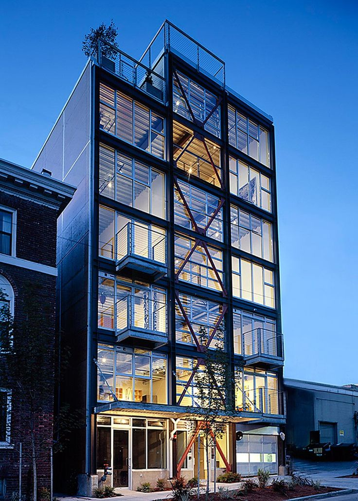 SHED updates an urban loft in downtown seattle