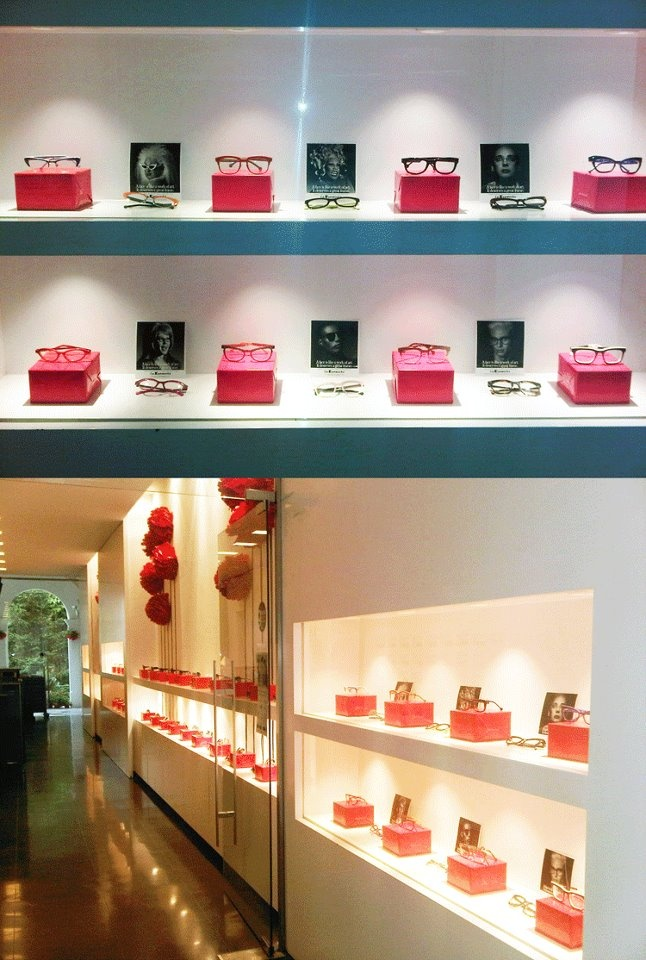 L.A.Eyeworks designs at Optica del Bulevard in Barcelona