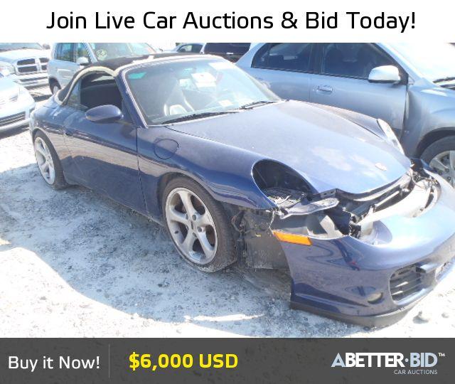 Salvage  2001 PORSCHE 911 for Sale - WP0CA29951S651590 - https://abetter.bid/en/vehicle-finder-auto-auctions/salvage-cars-for-sale/porsche/911/2001-porsche-911-lot-27661115-copart-loganville-ga-vin-WP0CA29951S651590