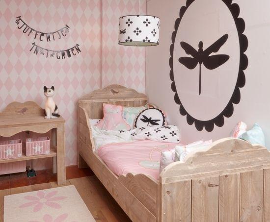 Behang Radijs Roze? De leukste Behang voor de kinderkamer bij Saartje ...