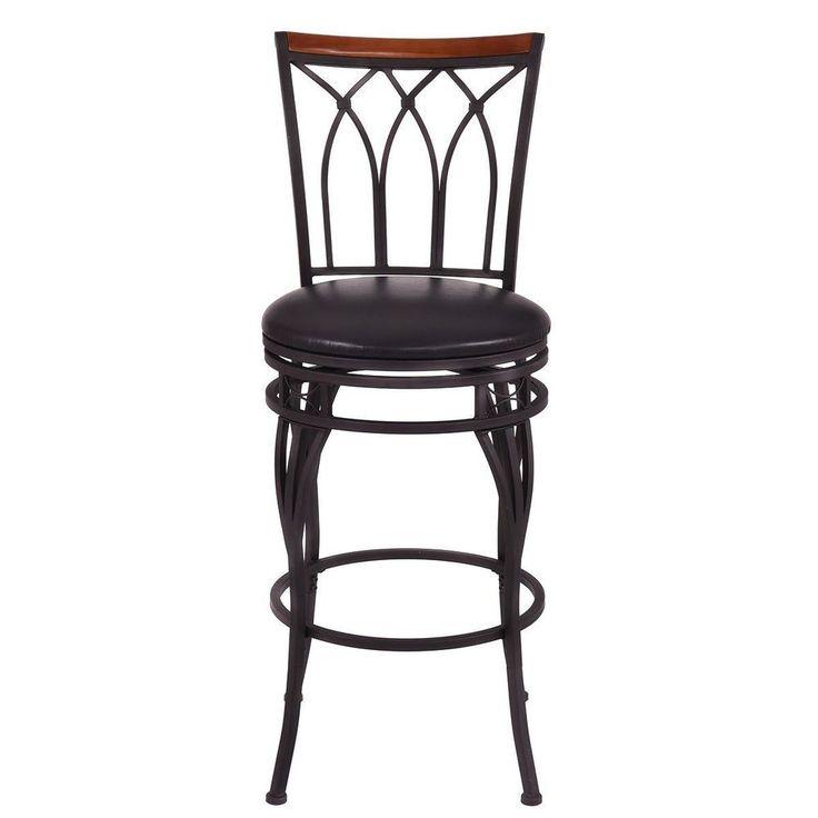 """Vintage Bar Stool Adjustable Seat Height Counter Top Chair: 12 Best 24"""" 28"""" Height Adjustable Vintage Swivel Bar Stool"""