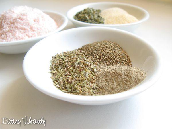 Instant Homemade Vegetable Stock Powder Herbs
