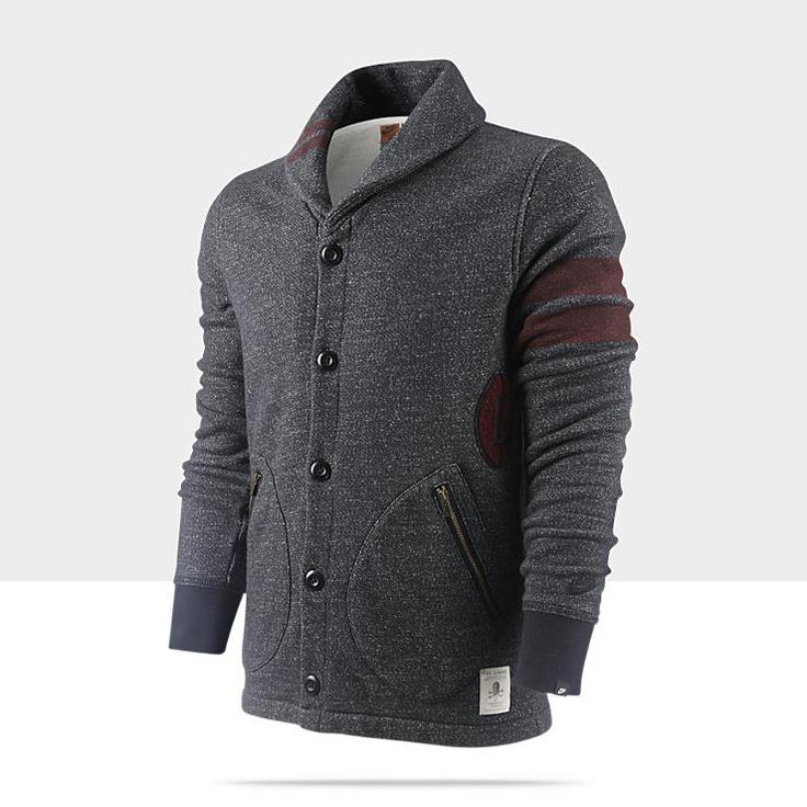 Nike BB51 Collection Shawl Collar Men's Cardigan