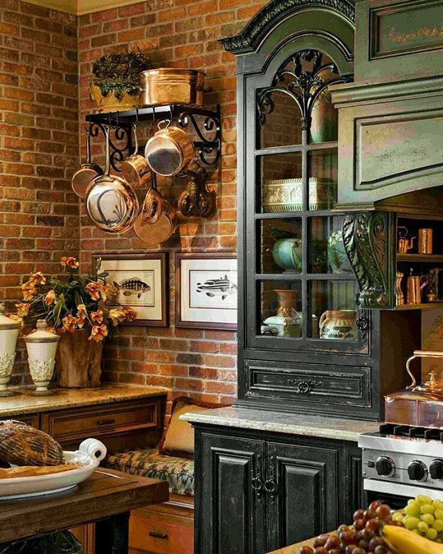 French Country Ish Country Kitchen Designs French