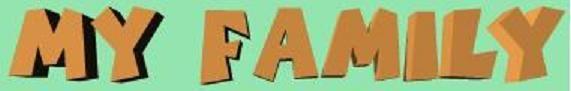 http://conteni2.educarex.es/mats/001001/contenido/ My family es una aplicación interactiva para que los alumnos de Segundo Ciclo de Primaria aprendan vocabulario en Inglés en relación a la familia. Nick y Tom son dos niños que nos presentarán a los miembros de sus familias. Después hay que realizar actividades con los parentescos de las mismas.