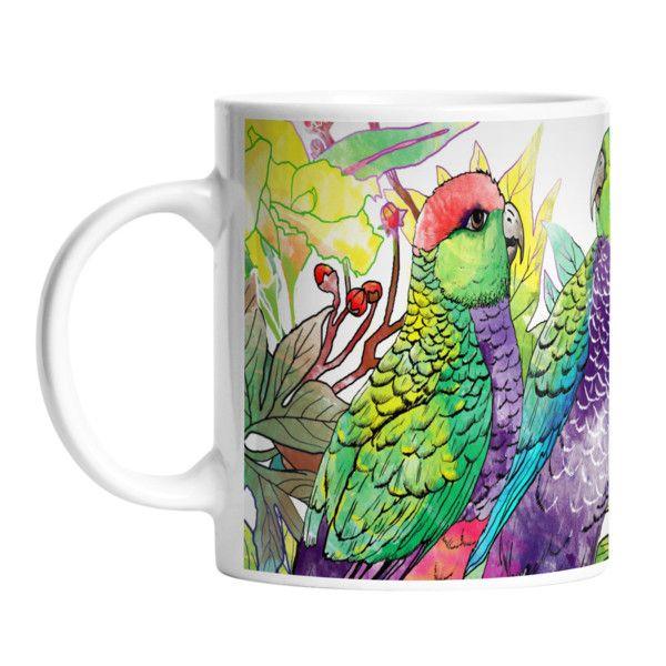 Kubek ceramiczny Parrot Talking, 330 ml | Bonami
