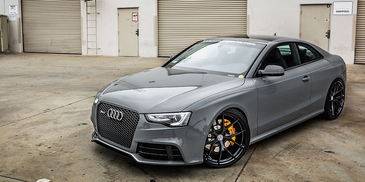 Nardo Gray Audi RS 5 by TAG Motorsports and HRE Wheels - Fourtitude.com