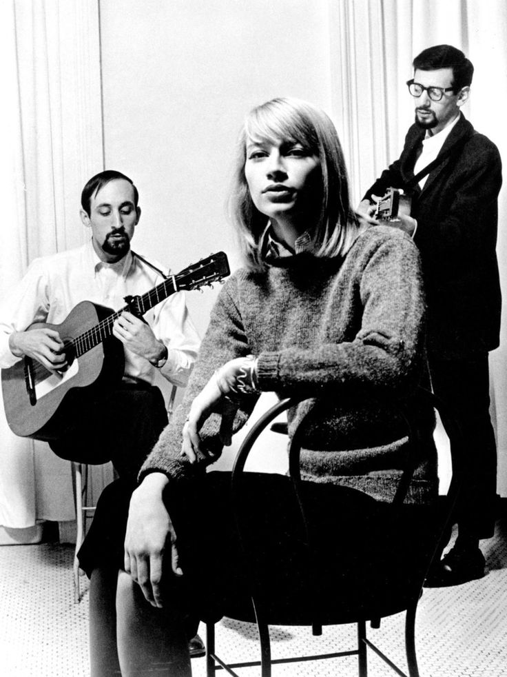 "Peter, Paul and Mary. """"When people sing together, community is created. Together we rejoice, we celebrate, we mourn and we comfort each other. Through music, we reach each other's hearts and souls. Music allows us to find a connection."" - (Peter Yarrow)"
