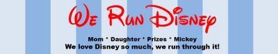 Great list of half marathons. We Run Disney: A Crazy Dream
