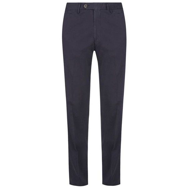 Canali Straight Leg Stretch Chinos (13.280 RUB) ❤ liked on Polyvore featuring men's fashion, men's clothing, men's pants, men's casual pants, mens stretch pants, mens chino pants, mens chinos pants, mens holiday pants and men's 5 pocket pants