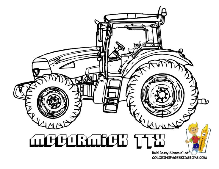 Tractor Colouring In Pages John Deere : 365 best värityskuvat images on pinterest