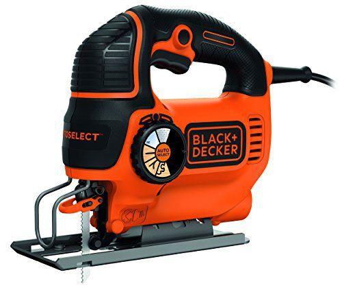 Black + Decker Scie sauteuse avec lame: Price:54.11Technologie autoselect : sélection automatique de la vitesse – 2 vitesses mécaniques…