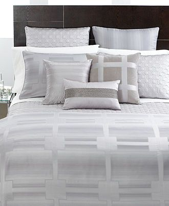 Hotel Collection, Meridian Quartz Full/Queen Duvet Cover #macysdreamfund