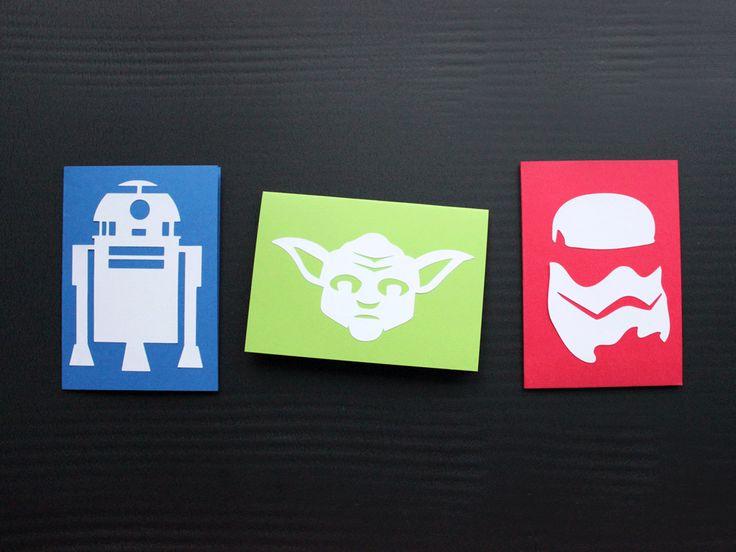 Star Wars Fan-Art für Schneideplotter. Die Freebie-Dateien gibt es als DXF, PDF, SVG, Studio3 und PNG.