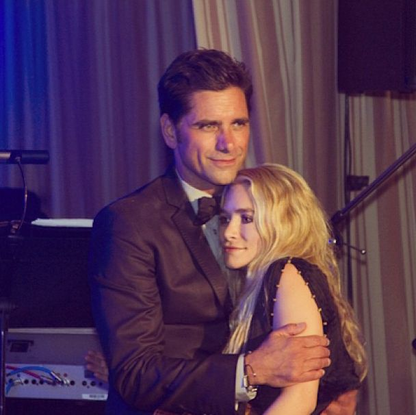 John Stamos hugged Ashley Olsen: | 19 Celebrity Instagrams You Need To See This Week