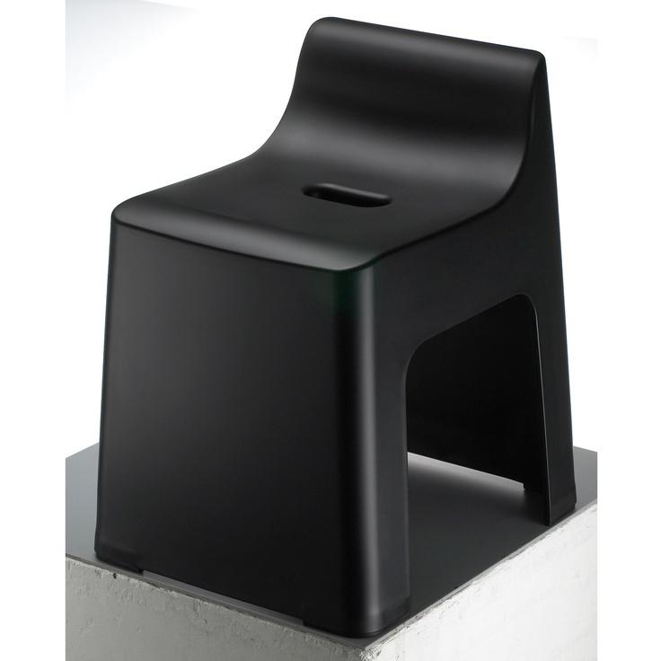 RETTO ハイチェア ブラック 4515yen お風呂のイス、低くない?