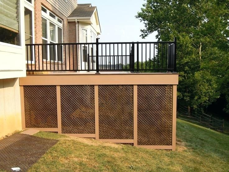 Deck Lattice Deck Lattice Alternatives Lattice Deck Skirting