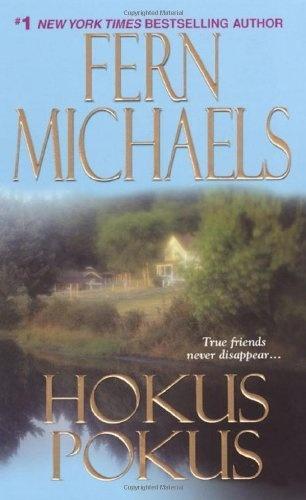 Hokus Pokus (The Sisterhood: Rules of the Game, Book 2) by Fern Michaels, http://www.amazon.com/dp/1420101854/ref=cm_sw_r_pi_dp_7QsUqb06YP6W0
