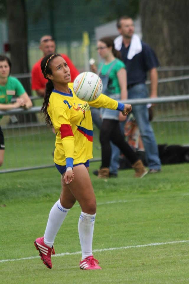Colombia en el Mundial de fistball Dresden, Alemania 2014