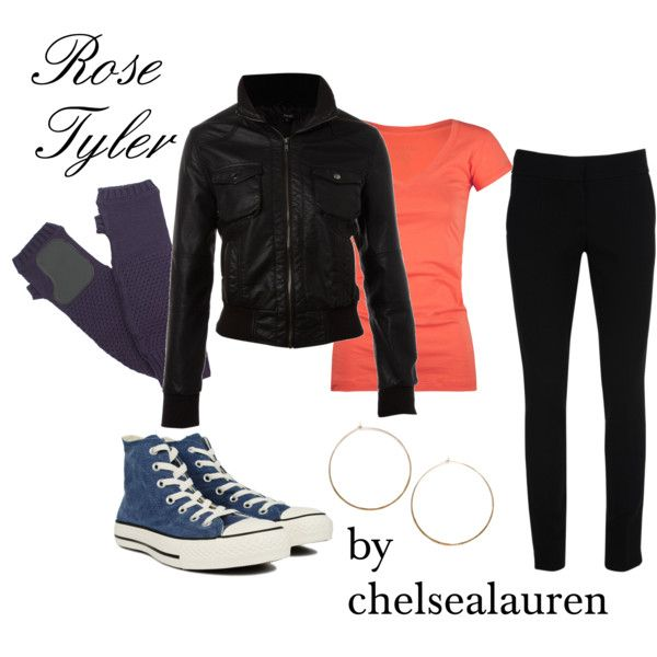 Rose Tyler - Never seen Doctor Who  and I'm not sure who Rose Tyler is but I like her style ;)
