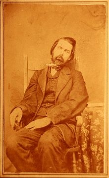 One of my favourite post mortem photos ever. I love the extreme orange tint.