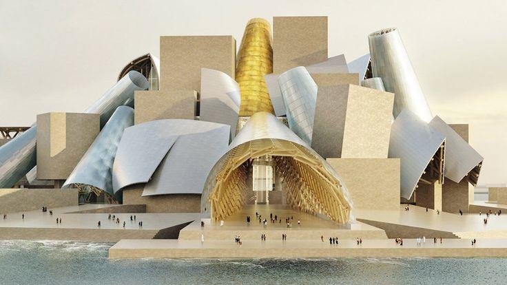 Frank Gehry Guggenheim Abu Dhabi