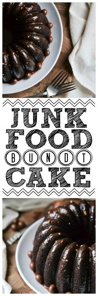 Junk Food Bundt Cake – #BundtBakers