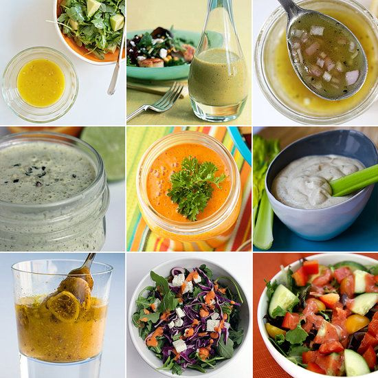 Salad Dressing Recipes, Healthy Salad Dressings, Dressings Sauces ...